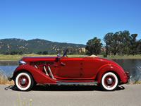 1936 Auburn 852 Convertible Sedan Charlie G