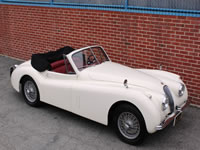 1954 Jaguar XK120DHC Sue H