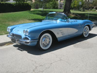 1961 Chevrolette Corvette Ray B