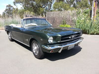 1965 Ford Mustang Convertible - Janet E.