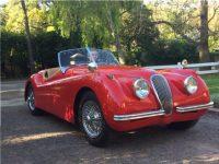 1953 Jaguar XK - Hutchinson